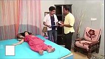 Indian brunette seduces her doctor